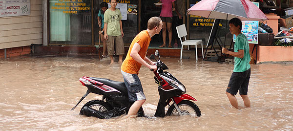 Наводнение в Тайланде. Фото